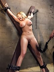 When bitchy, big tit American tourist Kagney Linn Karter gets caught at the Mexican border with...