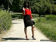 Like all the girls on this site Michelle has very nice legs and knows that they are always at...