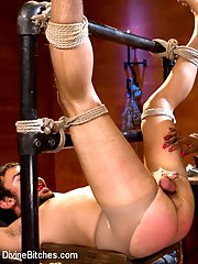Divine Bitch: Goddess Nyomi Banxxx Slave: Scout Goddess Nyomi Banxxx is back commanding total devotion with her striking presence! Slave Scout thanks his lucky stars to have the opportunity to train with such a goddess. Scout is let out of chastity but only for the purpose to