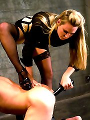 Mistress Harmony Rose teaches pretty boy a lesson in humility