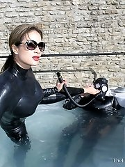 Wet Rubber Suits