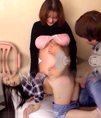 Best Japanese model Akira Aino in Horny POV, Pregnant JAV movie