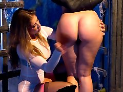 The moment we have all been waiting for is here! On Halloween Sinn Sage gets spanked and gang...