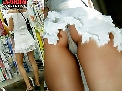 The most impressive upskirt closeups