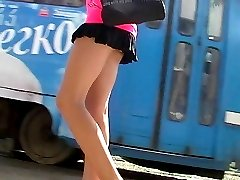Thong up girl's mini