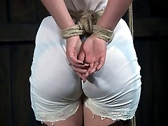 Charlotte Vale was far too full of herself. She thought that she could handle whatever sadistic ideas the RealTimeBondage crew conjured up.