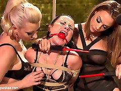Veruca James is desperate to quit smoking and seeks the help of a very unique agency to assist her in this process. Once the contract is signed all she has to do is simply not smoke. Bad habits die hard and Veruca can't control her cravings and finds herself in a world of lesbian punishment, bondage and strap-on ass fucking. These evil lesbians are going to make sure that Veruca will never look at another cigarette again.