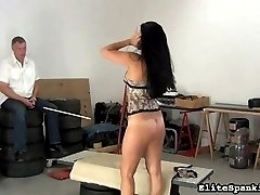 Tardiness isn't accepted here at Elite Spanking. If our spanking Master has to wait for a girl, she can expect a very painful surprise.