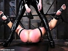 The beautiful Sarah Blake comes to Whippedass with an open mind.  She has a good understanding of BDSM and enjoys giving up all control to another woman.  Claire Adams creates interesting rope bondage and exciting corporal punishment leaving Sarah in a state of complete submission.