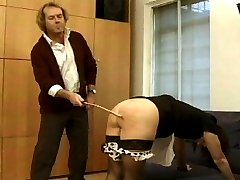 Two lovely asses take it very well.  But the pain gets the best of them.