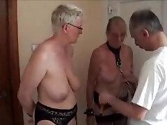 Joy with my mature Dutch slaves