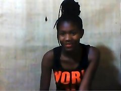 African school girl Princess