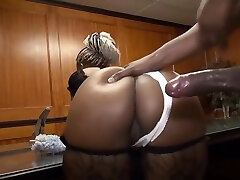 Servicing The Black Maid