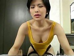 Horny voyeur seduced