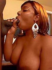 Horny black ass fuck and suck
