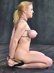 In our second ever LIVE Sexuallybroken show, the legendary Darling is the focus of our attentions. She is in for a hour of continuous action, nonstop dicking down by 2 rock hard dicks that are going to own every hole she has without mercy. The confines of her cage mean that even if she couldn't handle the cock, she has no place to hide. She'll have to suffer, suck and fuck for her freedom.