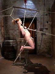 Marie McCray says she cant get real rope bondage at home, so shes back to Hogtied for more...