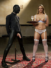 Training of O is where the Slaves Do The Work and I hope so much more from Holly Heart than the others. She has been here before. But she has become filthy, complacent, inattentive. And she talks too much. There is much work to be done here. Do not let down me, Heart
