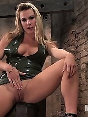 When a beautiful but insatiable dominatrix runs out of good men, her hunt for cock leads to...