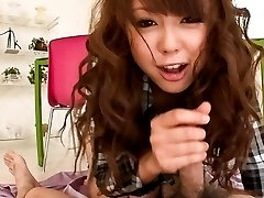 Jyunko Hayama Asian is so naughty while licking and rubbing tool