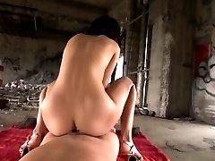 Mikoto Tsukawa Asian sucks dick before doggy OutdoorJp.com