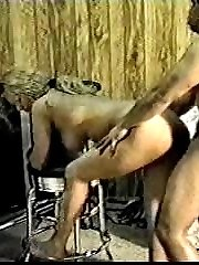 Blonde curvy amateur blowjob and fucking action