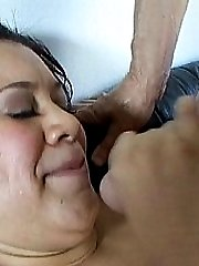 Sucking down some big cock and balls