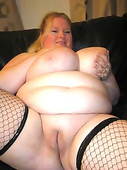 BBWs flaunt their cunt and huge breasts