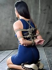It doesn't take much to leave a super-fucking-hot woman speechless. Take India Summer. She's a sweetheart, undoubtedly, and I'm sure she's seen more than her honest share of super hot activity, but she has never had a day like this before. Restrain Bondage is more than wire and physical penalty. It is a way of managing someone by getting inwards their head. Once I've had a minute to analyze India she is like putty in my forearms.