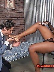 Videoclips of Ebony Domina Nyomi Banxxx