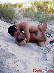 These super-steamy guys like to push their stiffys in tight booties outdoor