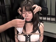 Exotic Asian model in Best Fetish, BDSM JAV pinch
