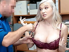 ShopLyfter -Big-boobed Emily right Fucked By The Security Officer