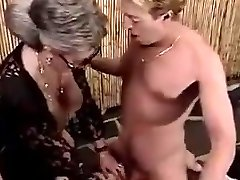 Grannies urinate on