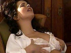 Lesbian Secretary Eats the Wooly Pussy Doctor