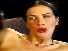 Anal... Fantastic Slim Italian Babe Wambammed On Stage... Vintage