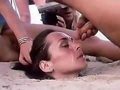 Wild homemade Outdoor, Facial adult clip