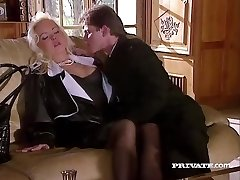 Silvia Saint Romps the Lawyer and Strokes His Cum