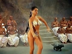 SNAKE DANCE - antique erotic dance tease (no bareness)