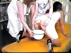 German enema old school...