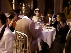 Dark-haired wife is cheating her husband with his pal