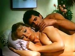 Too horny spouse tries to awake interest in orgy of busty blonde wife