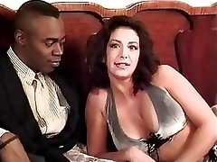 Sophia Ferrari Sean Michaels interracial ass-fuck italian brunette classic antique retro doggie-style