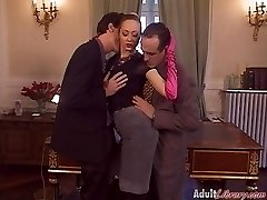 German Milf Chief fucked in Office