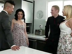 Husband Commands His Shy Wife To Fuck A Utter Stranger