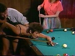 Pool table is big enough to fuck 2