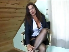 Blair Teases Wearing Simply Classical Brand RHT Nylons