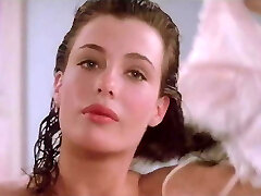 Kelly LeBrock Chick In Red Side Boob Hairy Pussy Flash