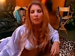 Mischievous pornstars Shanna Mccullough, Stacy Valentine and Jeanna Fine in exotic facial, blonde sex video