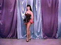 Antique Stripper Film - B Page Teaserama movie two